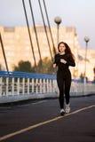 Mulher Running Fotografia de Stock