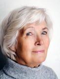 Mulher sênior Fotografia de Stock Royalty Free