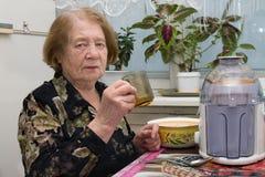 Mulher sênior Imagem de Stock Royalty Free