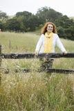 Mulher sênior ao ar livre fotos de stock