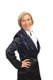 Mulher sênior bonita foto de stock royalty free