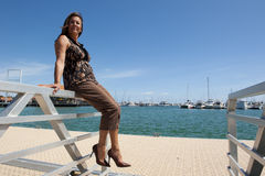 Mulher sênior feliz Imagens de Stock Royalty Free