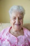 Mulher sênior feliz Imagem de Stock