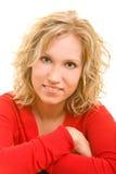 Mulher satisfeita Imagem de Stock