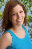 Mulher saudável Self-confident Fotos de Stock Royalty Free