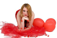 Mulher sedutor Imagens de Stock Royalty Free