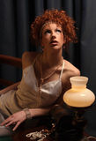 Mulher sensual Fotografia de Stock Royalty Free
