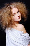 Mulher sensual Foto de Stock