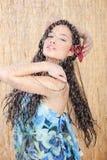 Mulher sensual sob o chuveiro Imagens de Stock Royalty Free