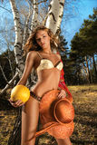 Mulher 'sexy' Fotografia de Stock Royalty Free