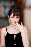 Mulher 'sexy' Imagens de Stock Royalty Free