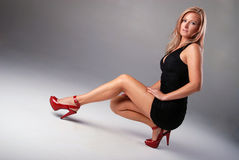 Mulher 'sexy'. Fotos de Stock Royalty Free