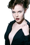 Mulher 'sexy' bonita imagens de stock royalty free