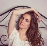 Mulher 'sexy' bonita fotografia de stock