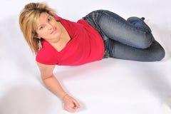 Mulher 'sexy' bonito 14 Foto de Stock Royalty Free