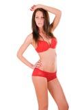 Mulher 'sexy' com corpo perfeito Imagens de Stock Royalty Free