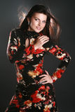 Mulher 'sexy' de Beautifu Fotografia de Stock Royalty Free