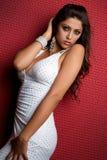 Mulher 'sexy' de Latina Fotos de Stock