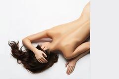 Mulher 'sexy' despida imagens de stock
