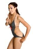 Mulher 'sexy' do Swimsuit imagem de stock