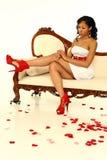 Mulher 'sexy' do Valentim fotos de stock