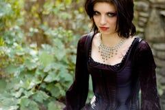Mulher 'sexy' do vampiro fotos de stock
