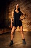 Mulher 'sexy' dos esportes Foto de Stock Royalty Free