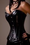 Mulher 'sexy' magro com figura do hourglass Fotos de Stock