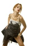 Mulher 'sexy' no vestido imagem de stock