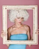 Mulher 'sexy' quadro. Imagem de Stock Royalty Free