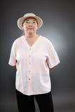 Mulher superior caucasiano Fotos de Stock