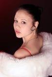 Mulher surpreendente Fotografia de Stock Royalty Free