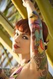 Mulher tattooed 'sexy'. Fotografia de Stock Royalty Free
