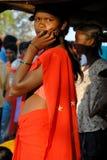 Mulher tribal Fotos de Stock