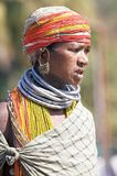 Mulher tribal de Bonda Fotografia de Stock Royalty Free