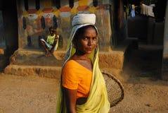 Mulher tribal em India Foto de Stock Royalty Free