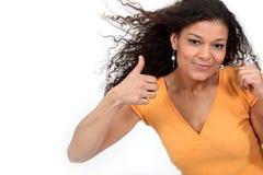 Mulher triguenha Imagem de Stock