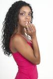 Mulher triguenha bonita fotos de stock royalty free