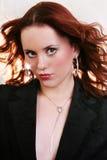 Mulher triguenha 'sexy' bonita nova Imagens de Stock Royalty Free