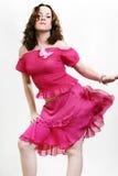Mulher triguenha 'sexy' bonita nova Foto de Stock