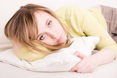 Mulher triste Foto de Stock Royalty Free