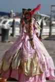 Mulher Venetian Imagens de Stock Royalty Free