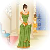 Mulher vitoriano do vintage Imagem de Stock Royalty Free