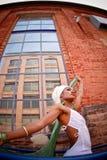 Mulher walking2 Fotografia de Stock Royalty Free