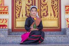 Mulheres étnicas tailandesas de Phu dos povos imagem de stock royalty free