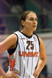 Mulheres 2009-2010 de EuroLeague. Foto de Stock Royalty Free