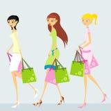 Mulheres ilustração royalty free