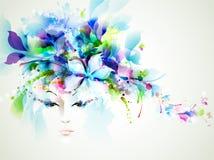 Mulheres abstratas ilustração royalty free
