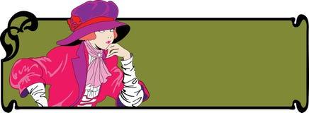 Mulheres abstratas ilustração stock