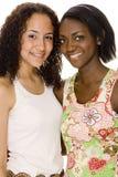 Mulheres adolescentes Imagens de Stock
